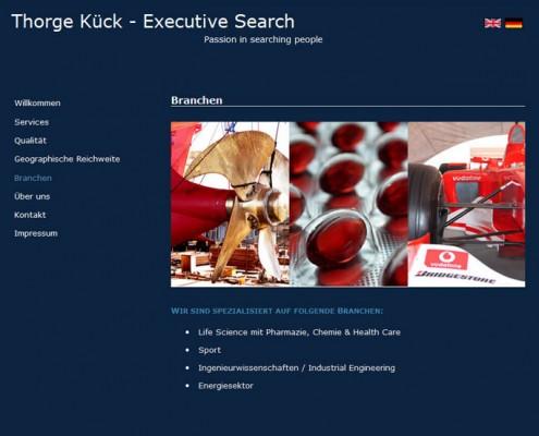 Website Personalberatung Hamburg Harburg