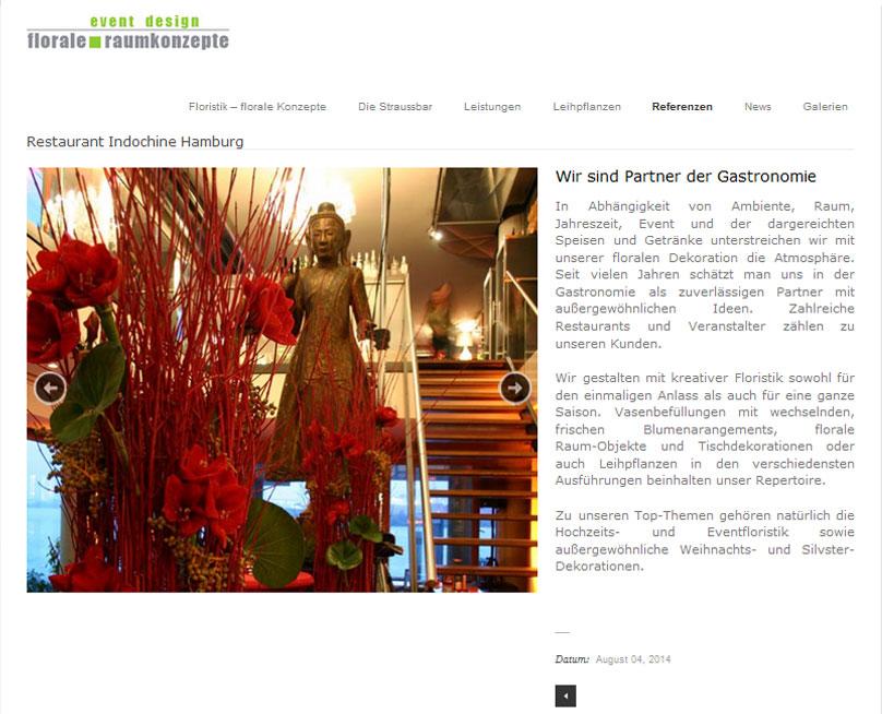 Marketing für Floristik: Website, Blog, Social Media Management
