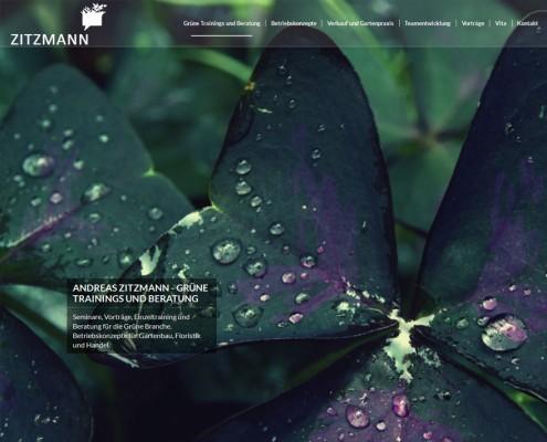 Webdesign Pflanzen Beratung