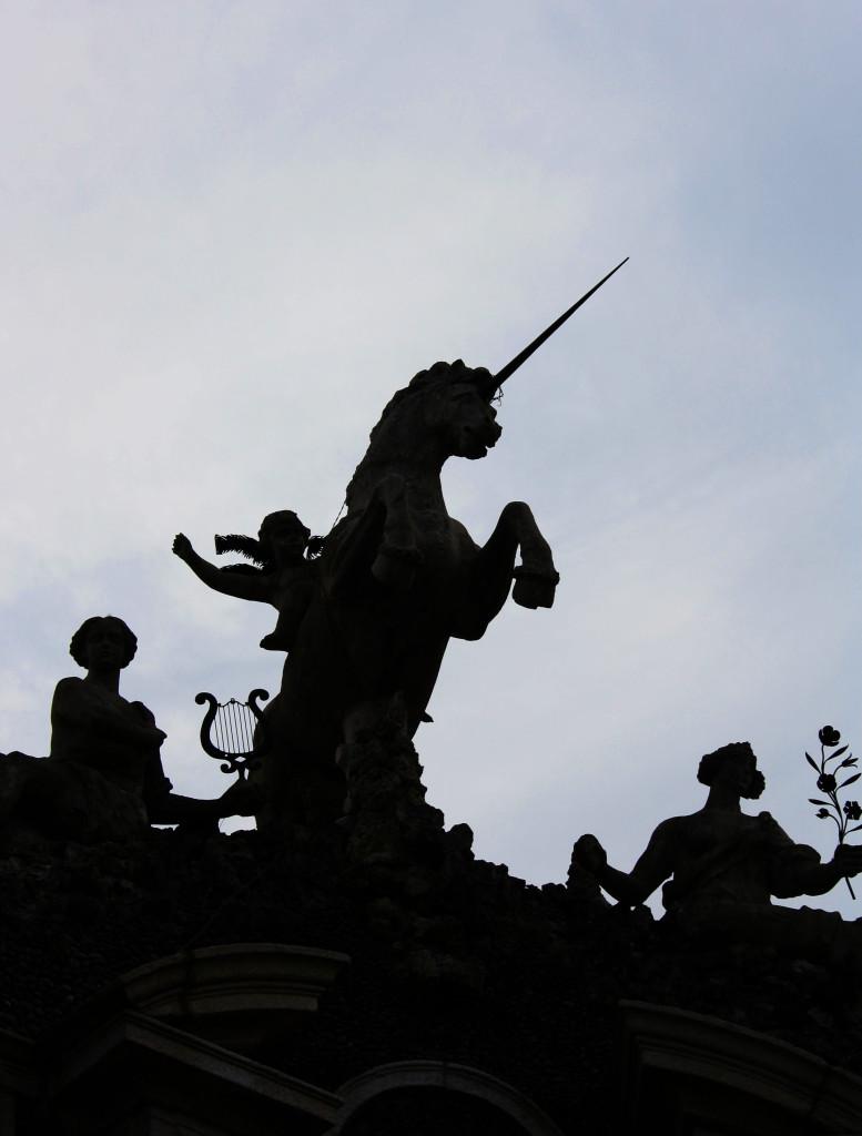 Einhorn, Wappen der Familie Borromeo