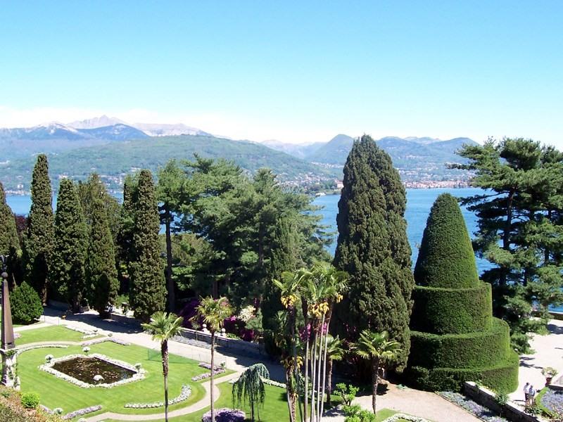 Schlossgarten, Isola Bella