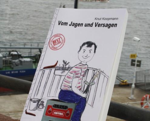 Buchcover Grafik Roman Knut Koopmann