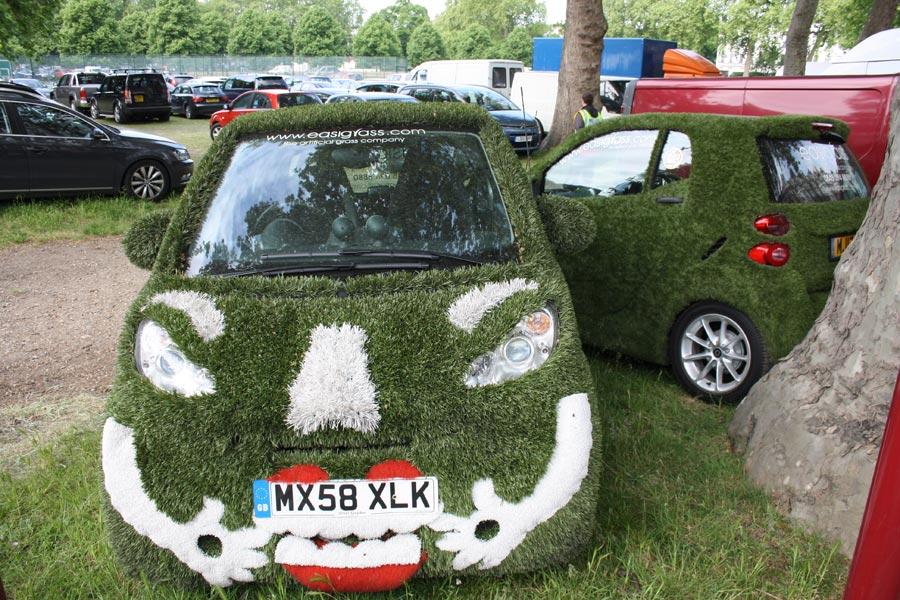 Green Car Chelsea Flowershow
