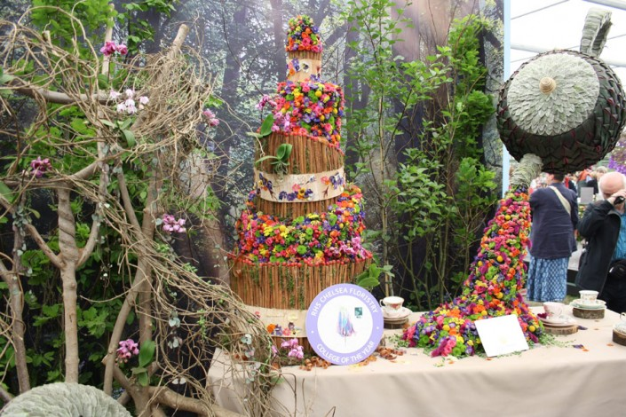 Tea-Time chelsea flowershow