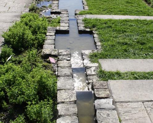 Wassergarten, Wasserlauf