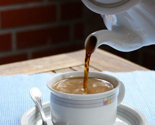 Kaffee aus den Bohnen der Süßlupinen