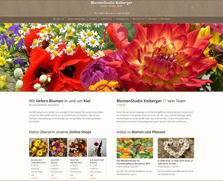 Onlineshop für Floristen in Kiel