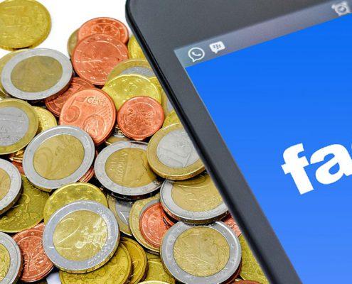 Geld für Facebook