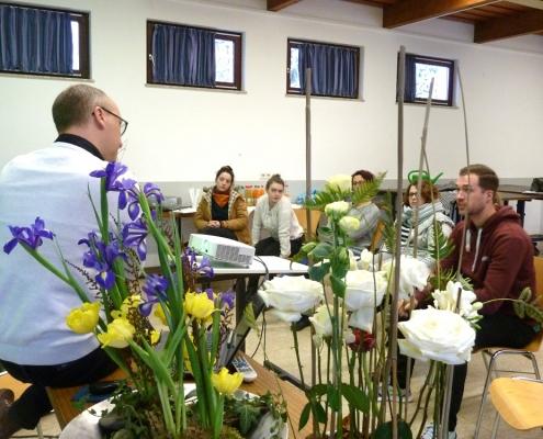 BWL Grundlagen in der Floristik vermittelt Christian Noll
