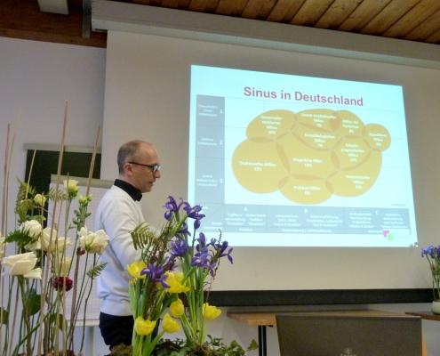Christian Noll, Floristmeister, erklärt wie man Zielguppen-Definitionen (den Sinus) nutzen kann