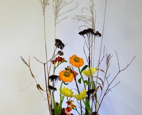 Blumengesteck - vegetativ gestaltet