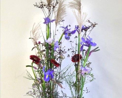 Gruppenbildung beim vegetativen Blumengesteck