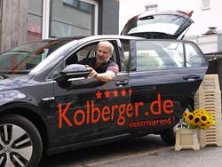"""Sven Kolberger: """"Umweltbewusstes Handeln kommt beim Kunden sehr gut an."""""""