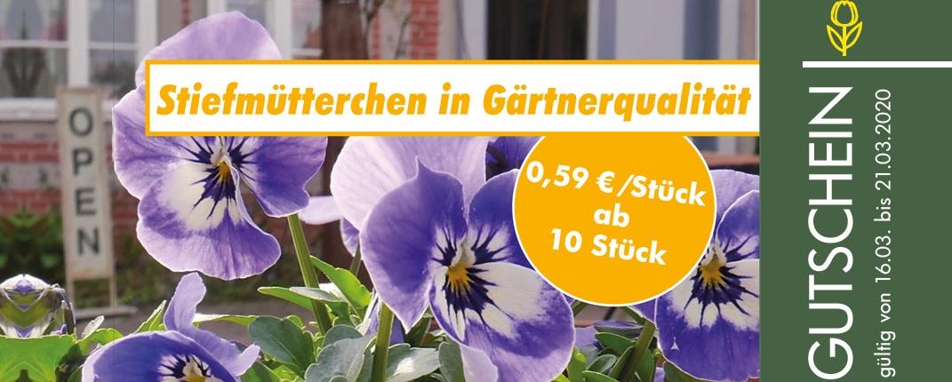 Der Gärtnerblock Gutscheinheft für Gärtnerei