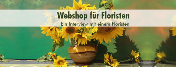 Webshop für Floristen
