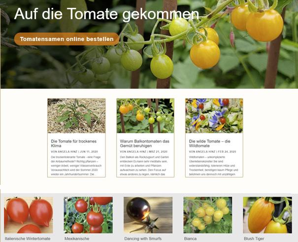 Tomatenversand