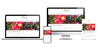 Website für Gärtnerei mit WordPress erstellen lassen, Internetagentur, Altes Land, Vierlande