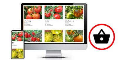 Pflanzenhandel Webshop machen lassen von Webagentur Harburg