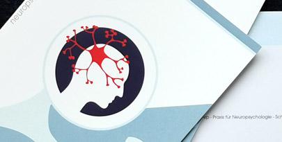 Corporate Design für Praxis einer Psychologin, Flyer und Türschild  von Internetagentur Harburg
