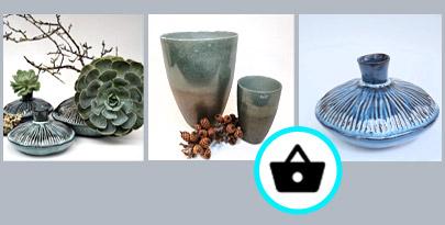 Beispiel für Webshop mit Dekorationsartikeln, Vase und Windlicht, erstellt für Einzelhandel in Kiel