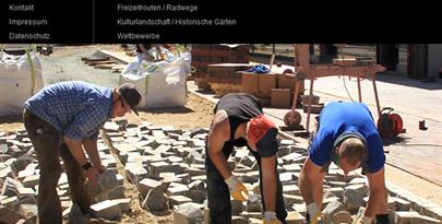 Website für Landschaftsplanung, Architekturbüro erstellen lassen von Onlineagentur Hamburg Harburg