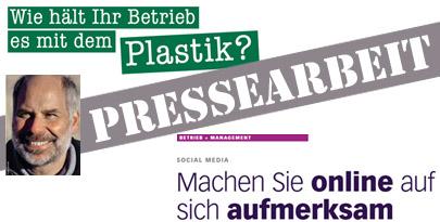Pressetexte schreibt die Werbeagentur aus Harburg
